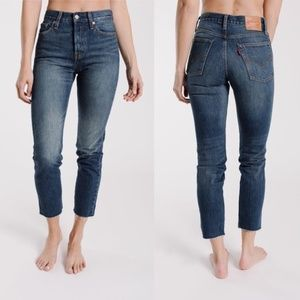 LEVI'S Wedgie Fit Icon White Oak Jeans Size 29 NWT
